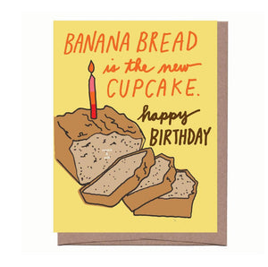 Banana Bread Scratch & Sniff Greeting Card *NEW!