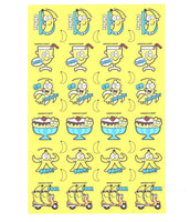Banana Scratch 'n' Sniff Stickers for EverythingSmells *NEW!*