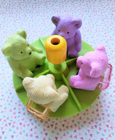 Scented Bear Pencil Sharpener/Eraser Combo *NEW!
