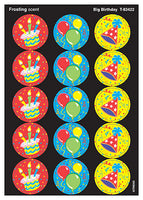 Big Birthday Scratch 'n Sniff Stinky Stickers (Frosting Scent)