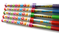 Birthday Pencils with Scented Toppers (5 Pack) *NEW!