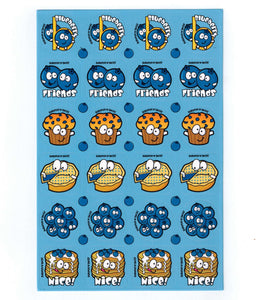 Blueberry Scratch 'n' Sniff Stickers for EverythingSmells