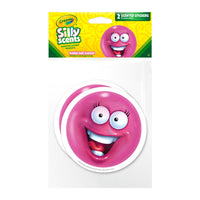 Jumbo Bubble Gum Ball Crayola Silly Scents Scratch & Sniff Stickers *NEW!