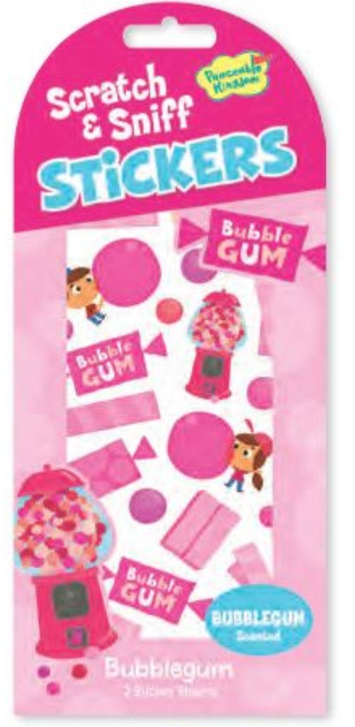 Bubblegum Scratch and Sniff Stickers