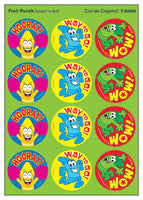 Can-do Crayons Scratch 'n Sniff Stinky Stickers (Fruit Punch Scent)