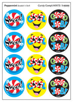 Candy Compli-MINTS Scratch 'n Sniff Stinky Stickers (Peppermint Scent)
