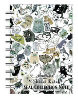 Cats Blank Mini Sticker Book