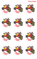 Cherry Slushie Big Wheel EverythingSmells Scratch & Sniff Stickers *NEW!