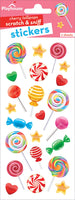 Cherry Lollipops Scratch & Sniff Stickers