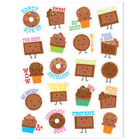 Chocolate Scented Stickers by Eureka