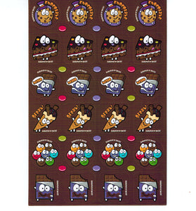 Chocolate Scratch 'n' Sniff Stickers