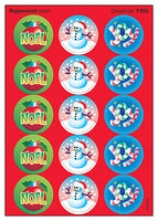 Christmas Scratch 'n Sniff Stinky Stickers (Peppermint Scent)