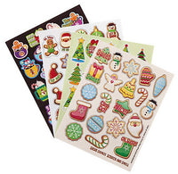 Christmas Scratch and Smell Scented Stickers Variety Pack by Eureka *Limited-Edition!*