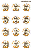 Fresh Brewed Coffee EverythingSmells Scratch & Sniff Stickers *NEW!