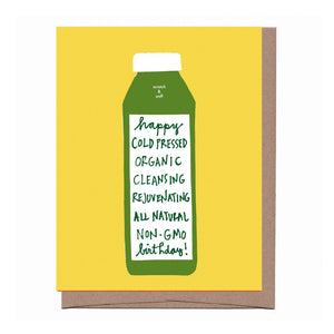 Cold Pressed Non GMO Scratch & Sniff Greeting Card *NEW!