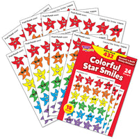 Colorful Star Smiles Scratch 'n Sniff Stinky Stickers Variety Pack (432 stickers)