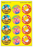Country Critters Scratch 'n Sniff Stinky Stickers (Honey Scent) *NEW!