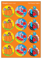 Fall Friends Scratch 'n Sniff Stinky Stickers (Pumpkin Scent)