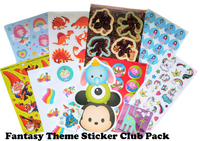 FANTASY THEME Sticker Club Pack *Limited-Edition*
