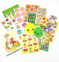FRUITY FEBRUARY THEME Sticker Club Pack *Limited-Edition*
