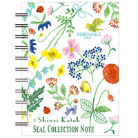 Flower Garden Blank Mini Sticker Book