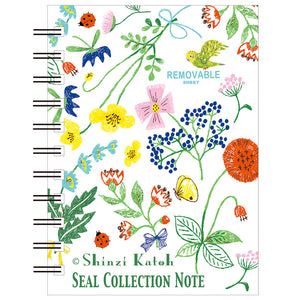 Flower Garden Blank Mini Sticker Book *NEW!