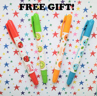 SPECIAL OFFER! FREE Scented Crayons!
