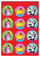 Furry Fun Scratch 'n Sniff Stinky Stickers (Strawberry Scent) *NEW!