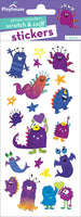 Grape Monsters Scratch & Sniff Stickers *NEW!