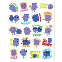 Grape Scented Stickers by Eureka