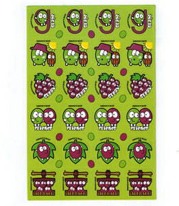 Grape Scratch 'n' Sniff Stickers for EverythingSmells *NEW!*