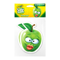 Jumbo Green Apple Crayola Silly Scents Scratch & Sniff Stickers *NEW!