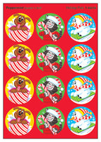 Holiday Pals Scratch 'n Sniff Stinky Stickers (Peppermint Scent)