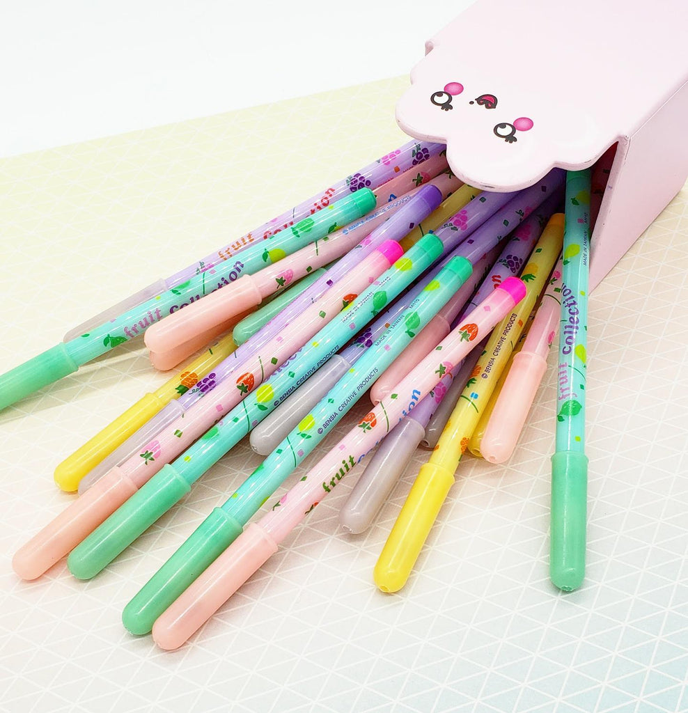 Retro Fruit Scented Pop A Point Pencil
