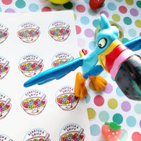 Fruity O's Cereal EverythingSmells Scratch & Sniff Stickers