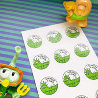 Fresh Cut Grass EverythingSmells Scratch & Sniff Stickers *NEW!