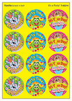 It's A Party Scratch 'n Sniff Stinky Stickers (Vanilla Scent)