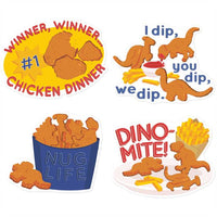 Jumbo Chicken Nuggets Scented Stickers *NEW!