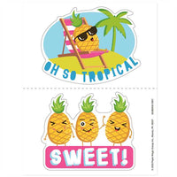 Jumbo Pineapple Scented Stickers *NEW!