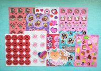 VALENTINE THEME Sticker Club Pack *Limited-Edition*