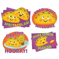 Jumbo Taco Scented Stickers *NEW!