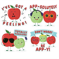 Jumbo Apple Scented Stickers *NEW!