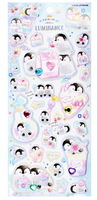 SUPER Puffy Penguins with Gems Puffy Stickers *NEW!