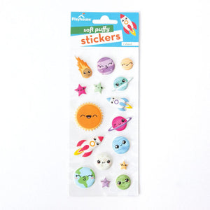 Kawaii Space Puffy Stickers *NEW!