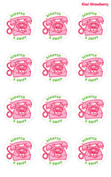 Kiwi Strawberry Telephone EverythingSmells Scratch & Sniff Stickers