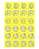 Lemon Scratch 'n' Sniff Stickers for EverythingSmells *NEW!*