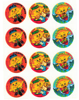 Sour Lemons Scratch & Sniff Smelly Stickers *NEW!