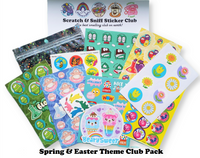 SPRING Theme Sticker Club Pack *Limited-Edition*