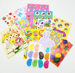 March SPRING/EASTER THEME Sticker Club Pack *Limited-Edition*
