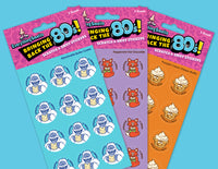EverythingSmells 80's Scratch & Sniff Stickers HOLIDAY Set *NEW!